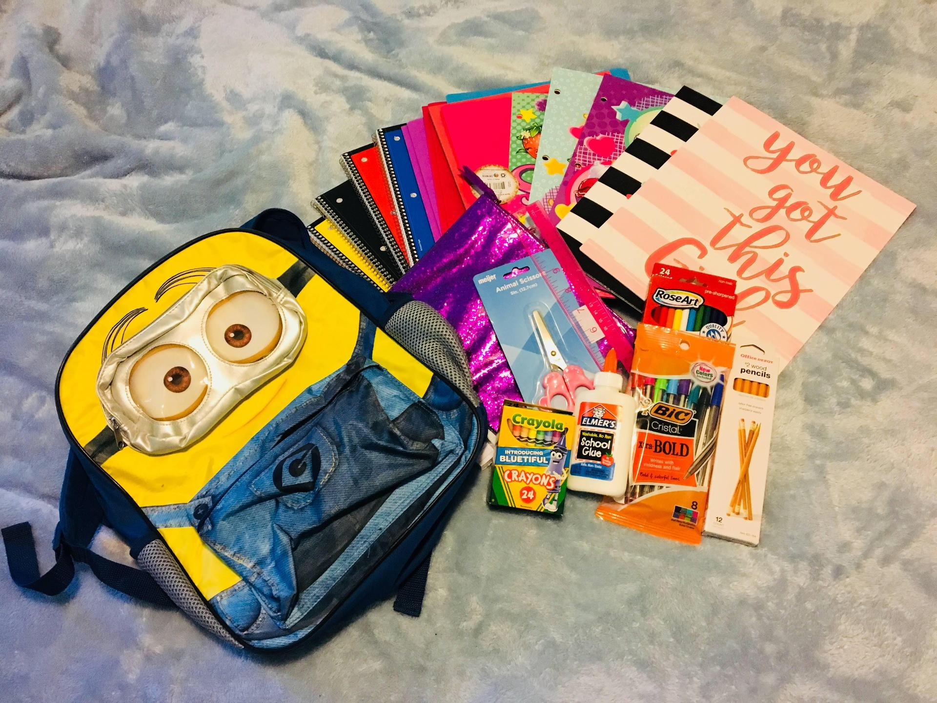 In 2018, Art Club donated funds to buy a local elementary student school supplies that her parents could not afford.