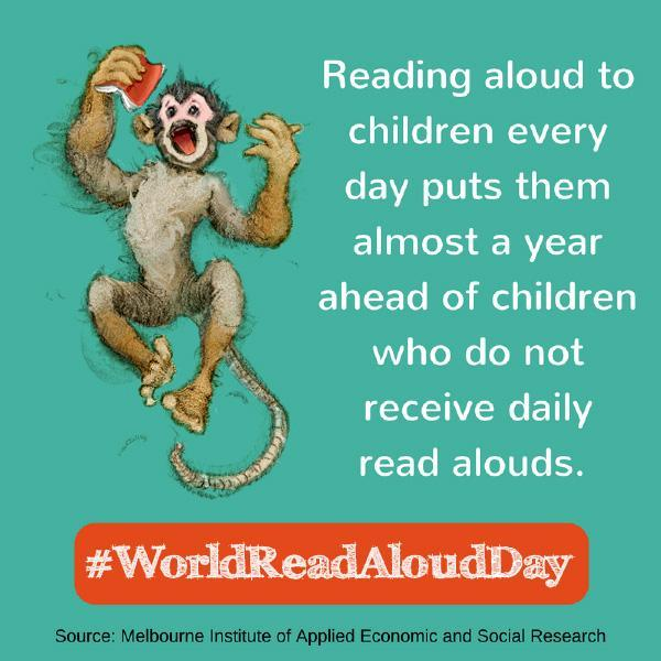 WORLD READ ALOUD DAY - FEB. 5TH! Featured Photo