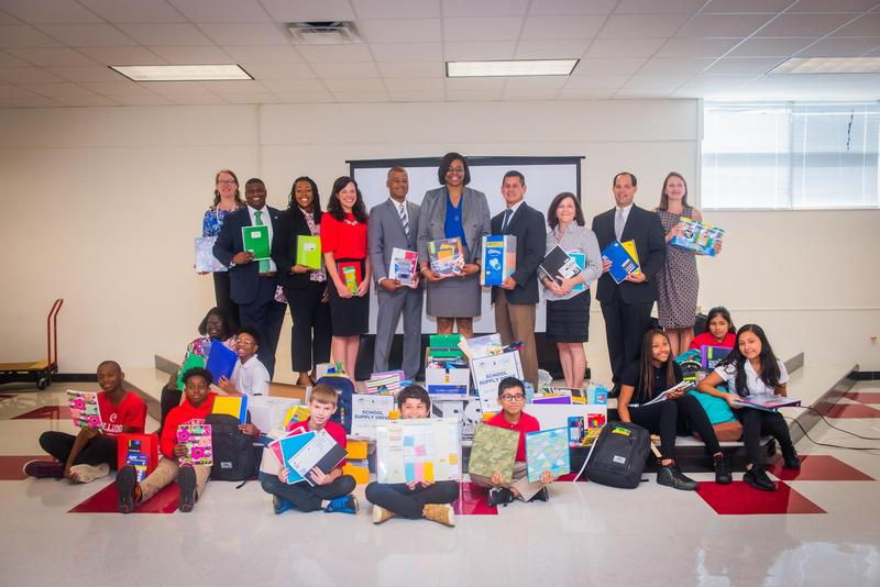 Two State Agencies Donate School Supplies to ECPS Thumbnail Image