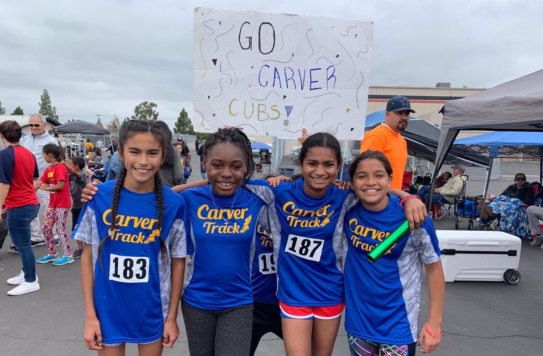 Carver Track Team