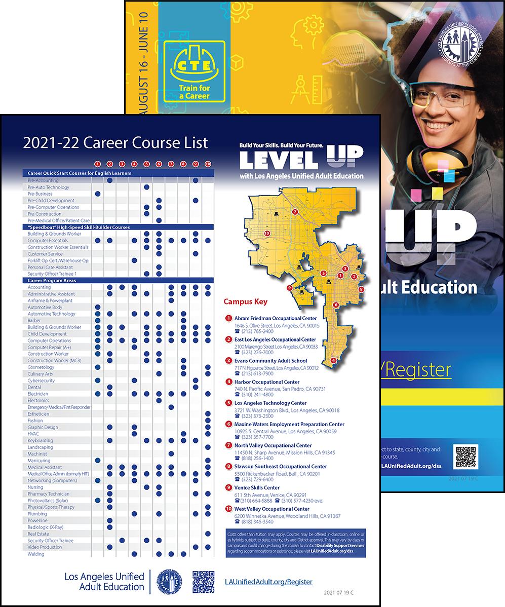 Career Technical Education Flyer - Program Area - Cover 03