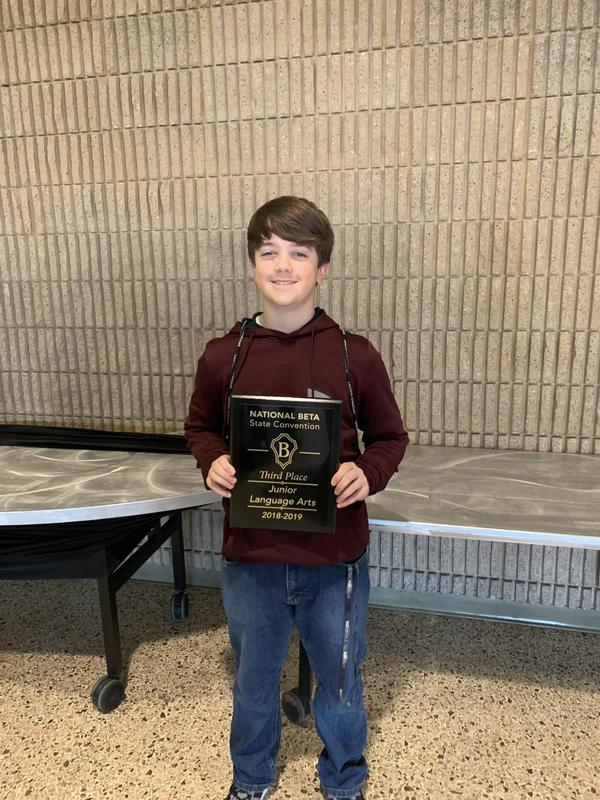 S.C. Jr. Beta Convention Winner
