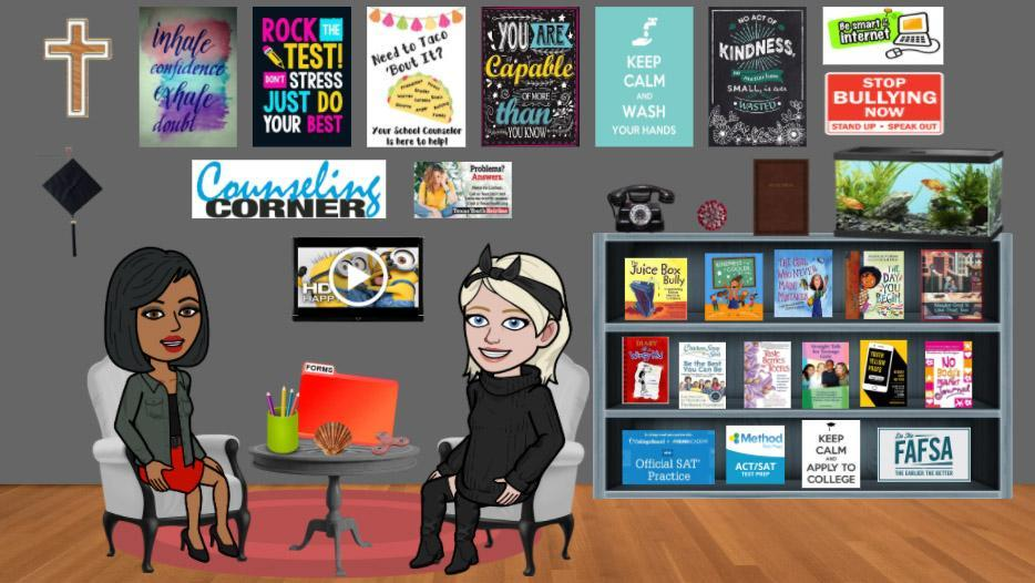 Virtual Cougar Counseling room