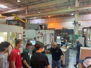Students tour FS Elliott