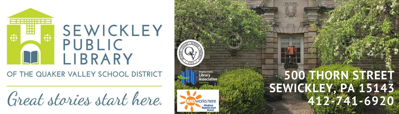 Sewickley Public Library Logo