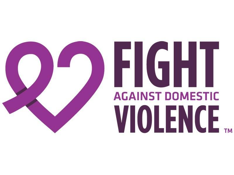 Fight against violence logo