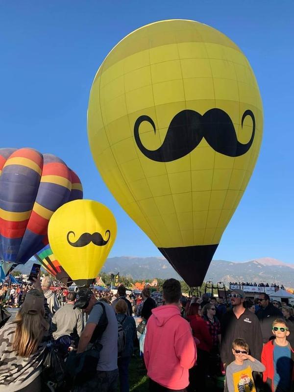 Hot Air Balloon on Campus 9/30/2021