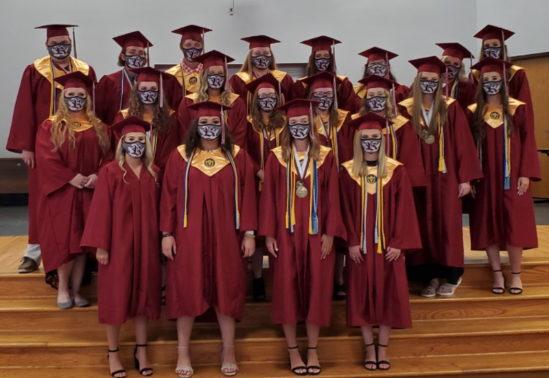 21 RHS Students Graduate with their Associates Degree from ASU-Newport. Featured Photo