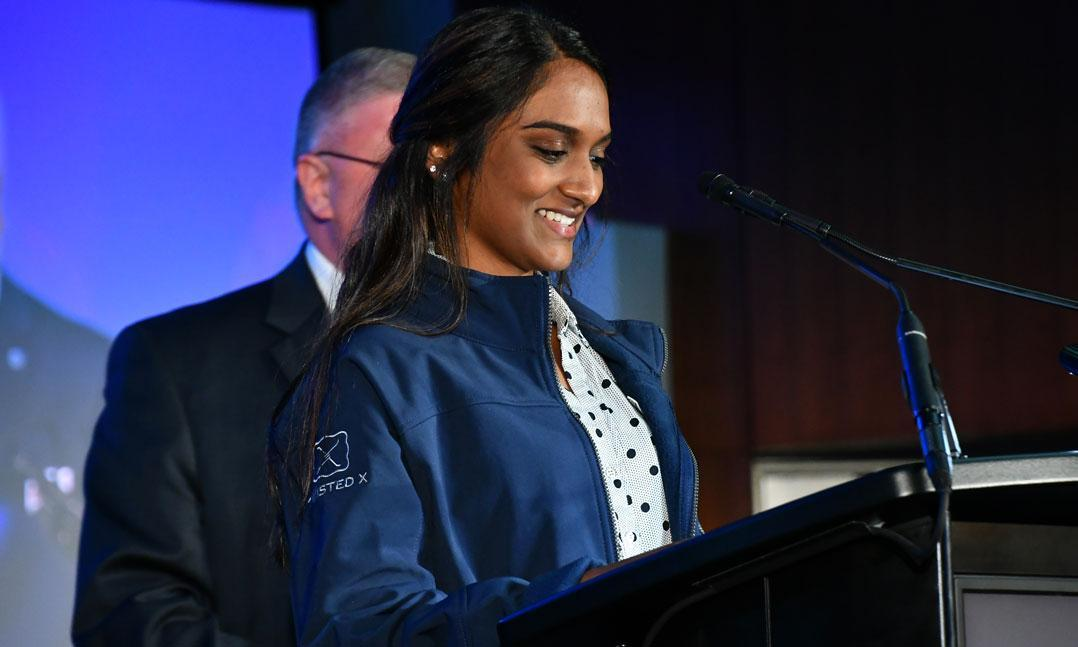 Shruthi Kumar was named the 2019-20 Voice of Democracy first place winner.