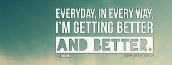get better every day