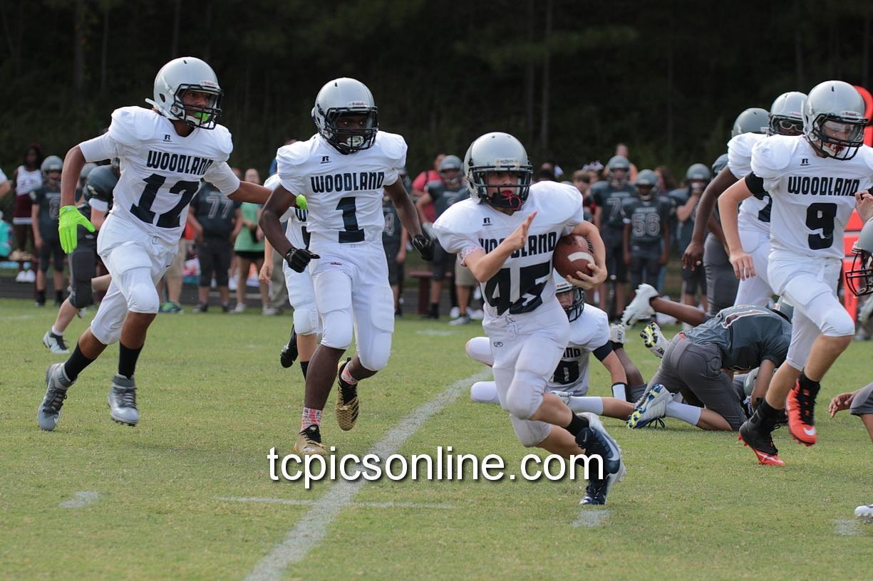 Woodland Middle School Football