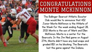 Athlete of the Week - Monte McKinnon