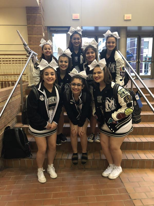 Cheerleaders go to STATE! Featured Photo