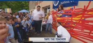 tape the teacher