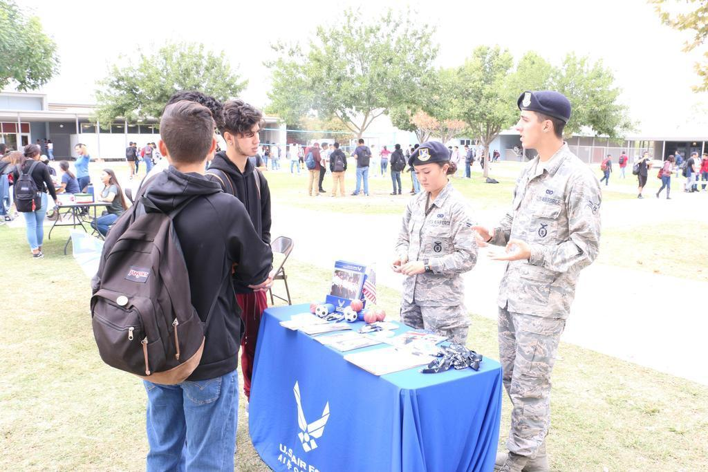 Air Force Booth
