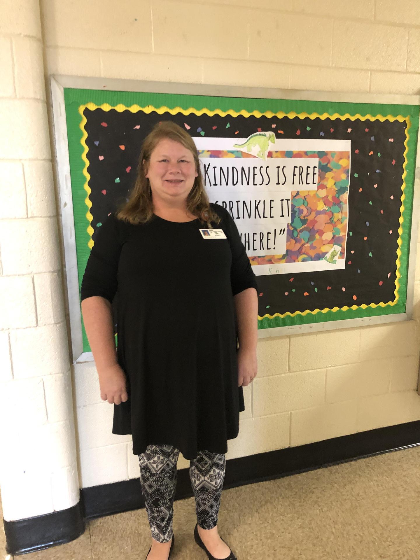 Teacher of the Year 2019-2020 Shelly Leonard