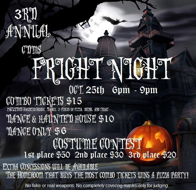 3rd Annual CDMS Fright Night Featured Photo
