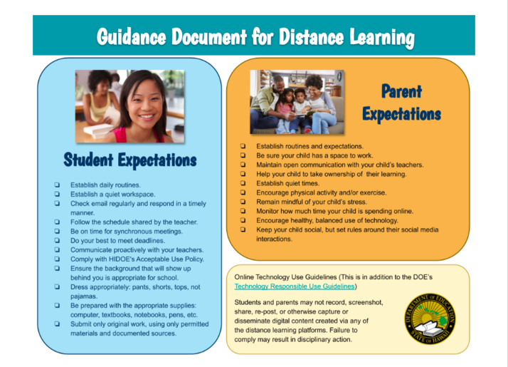 Distance Learning Info