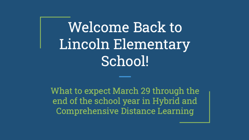 Hybrid Learning Students to Return to Lincoln Elementary - CDL Students Have New Schedule Featured Photo