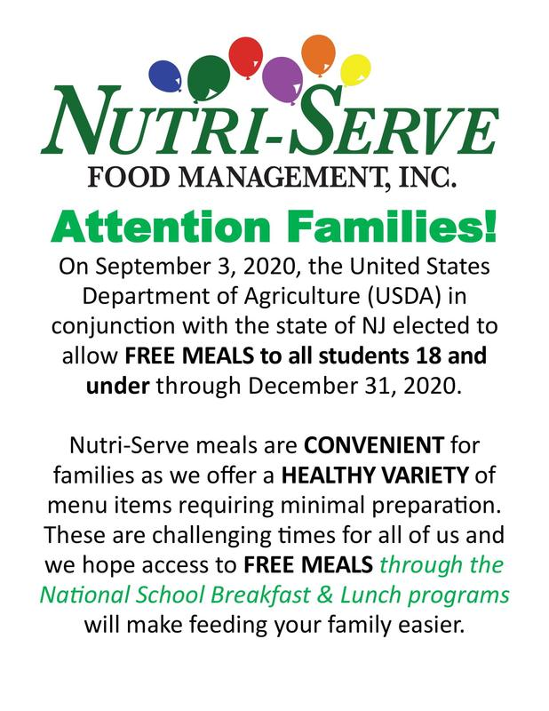 Free Meals for Students Thumbnail Image
