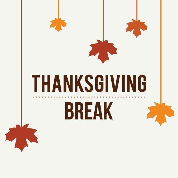 Thanksgiving Break Schedule Featured Photo