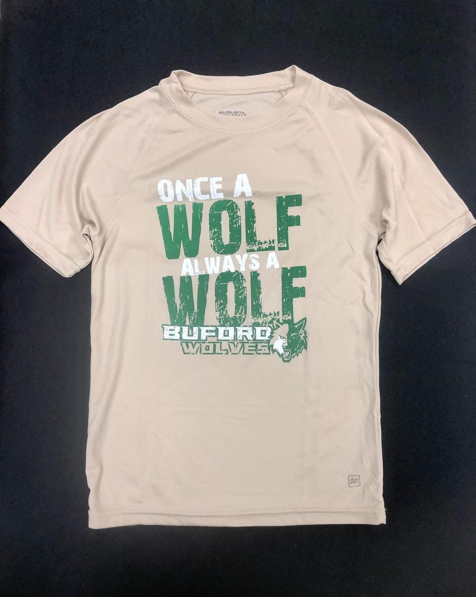 """Gold """"Once a Wolf"""""""