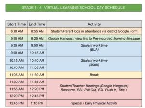 schedule 1 - 4