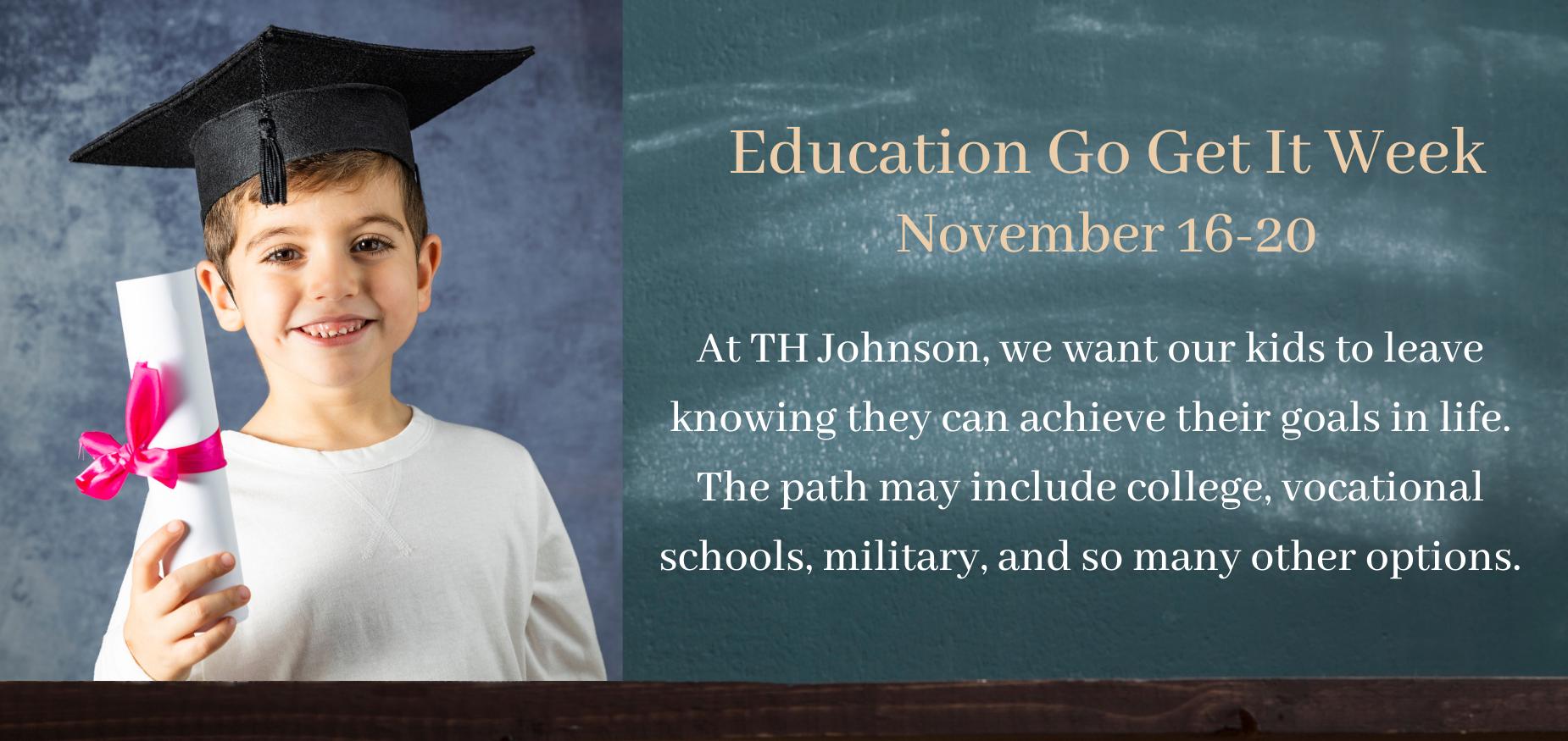 Education Go Get It Week 11/16-11/20