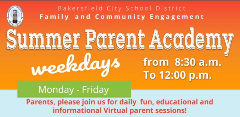 Summer Parent Academy Featured Photo