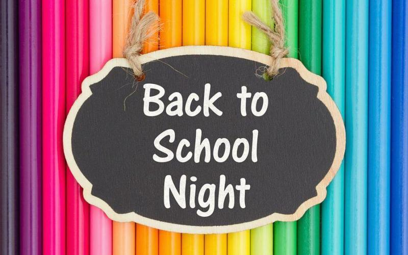Back to school night colored pencils picture