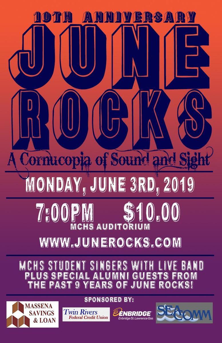 June Rocks 2019 Poster