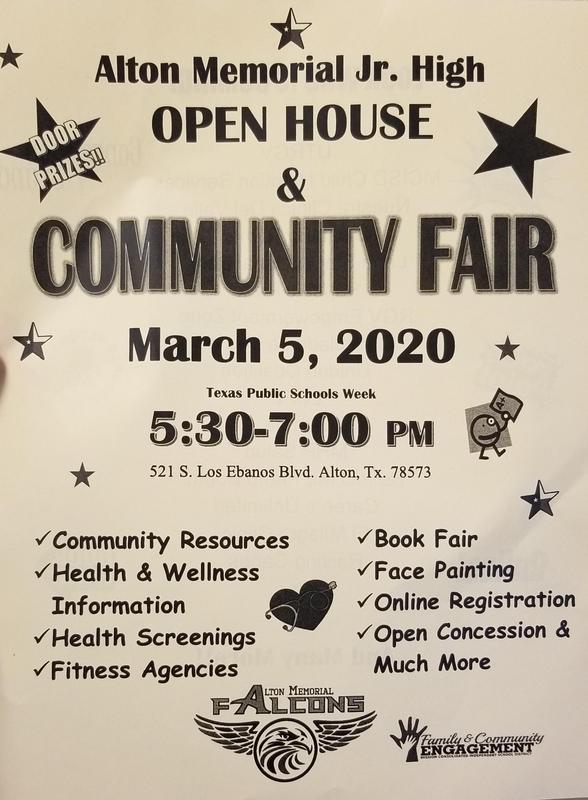 AMJH Community Fair