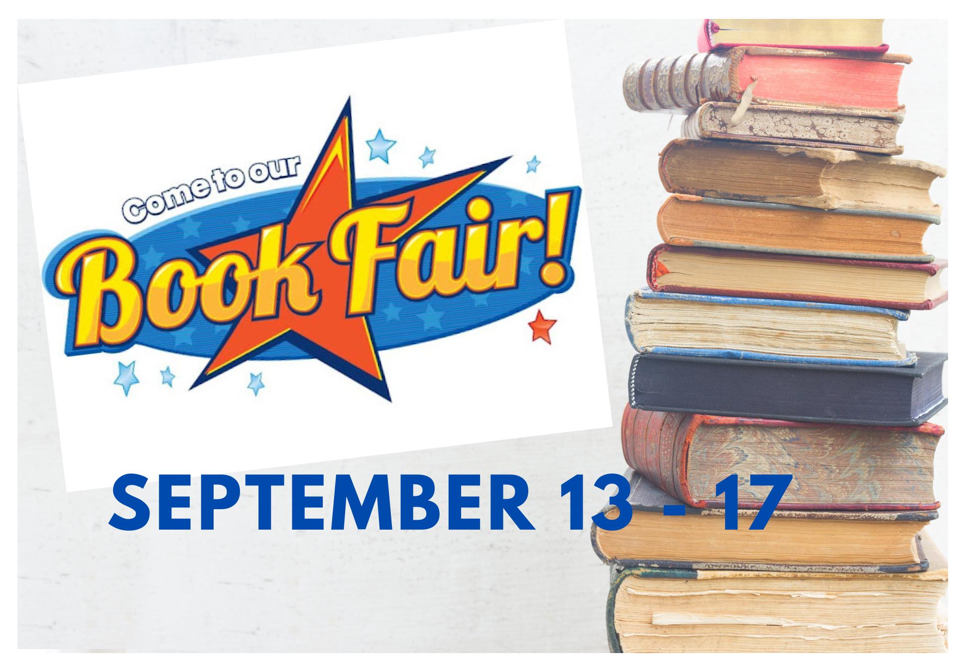 Book Fair Flyer - September 13-17