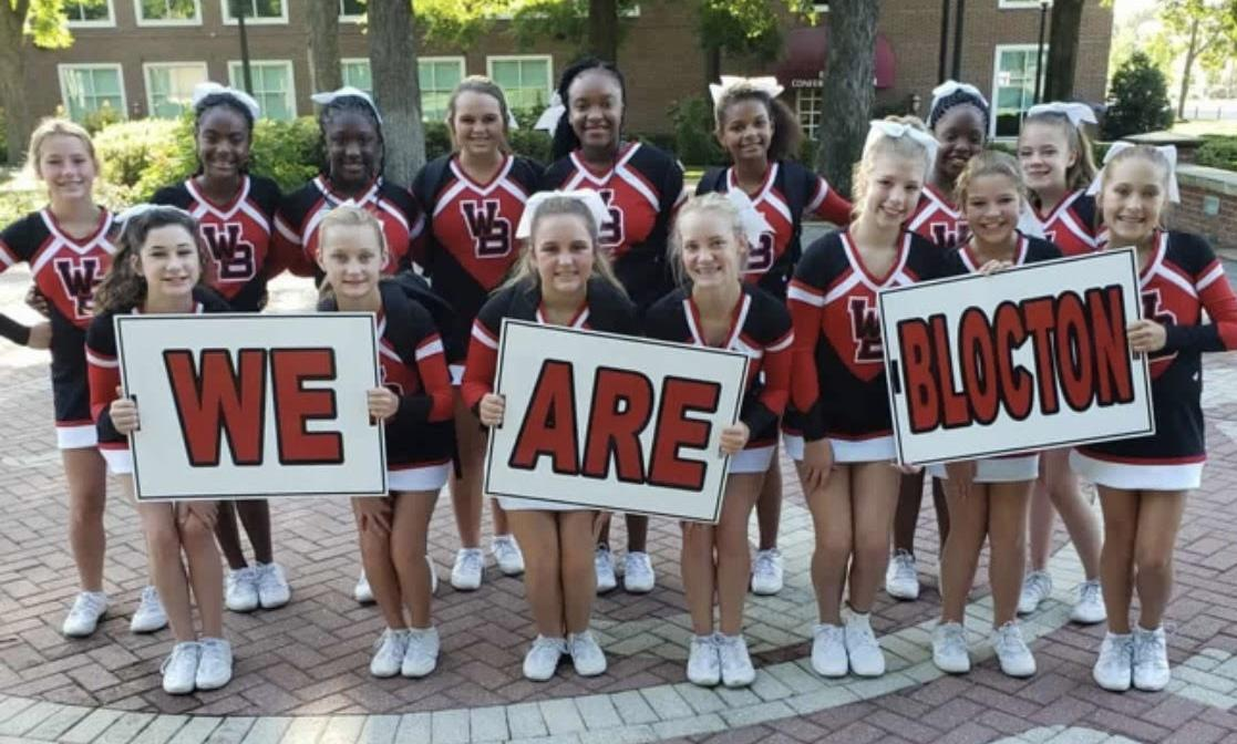 WBMS 2019-2020 Cheerleaders 2