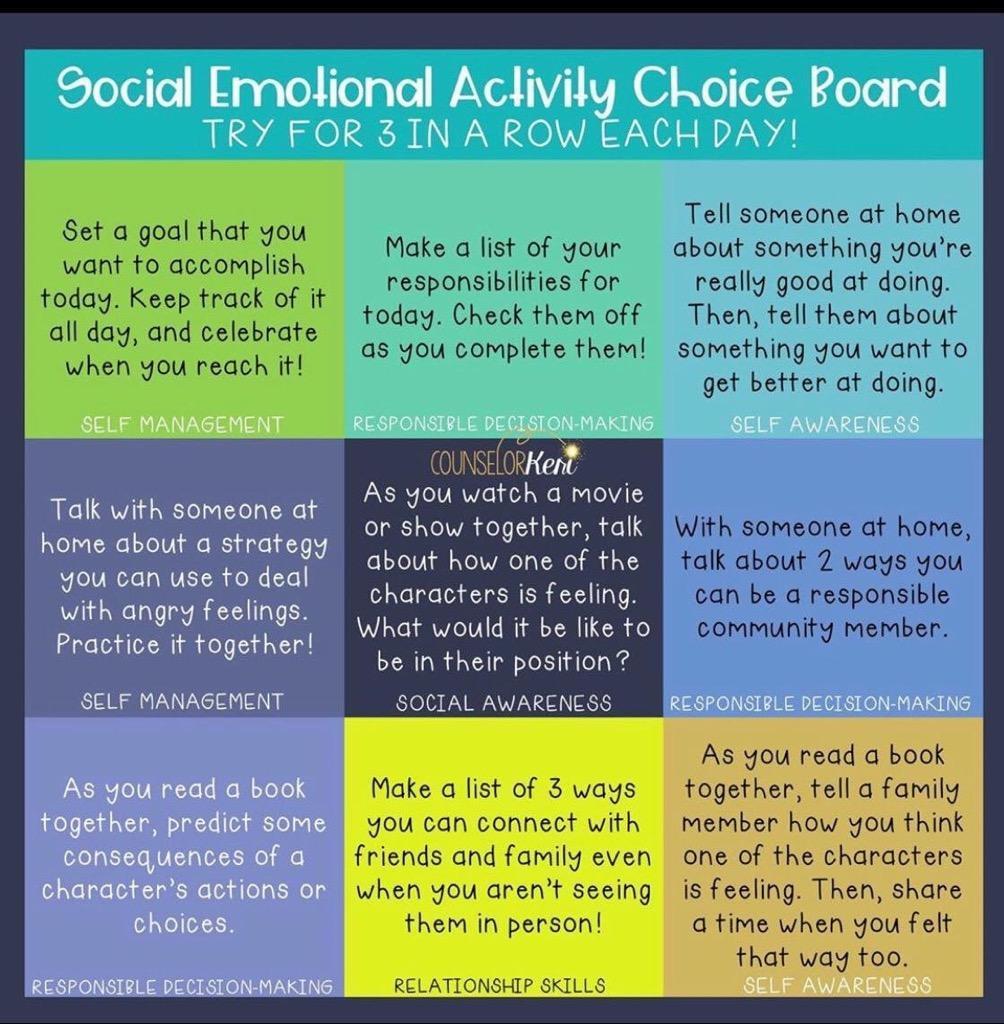 SEL Activity Board