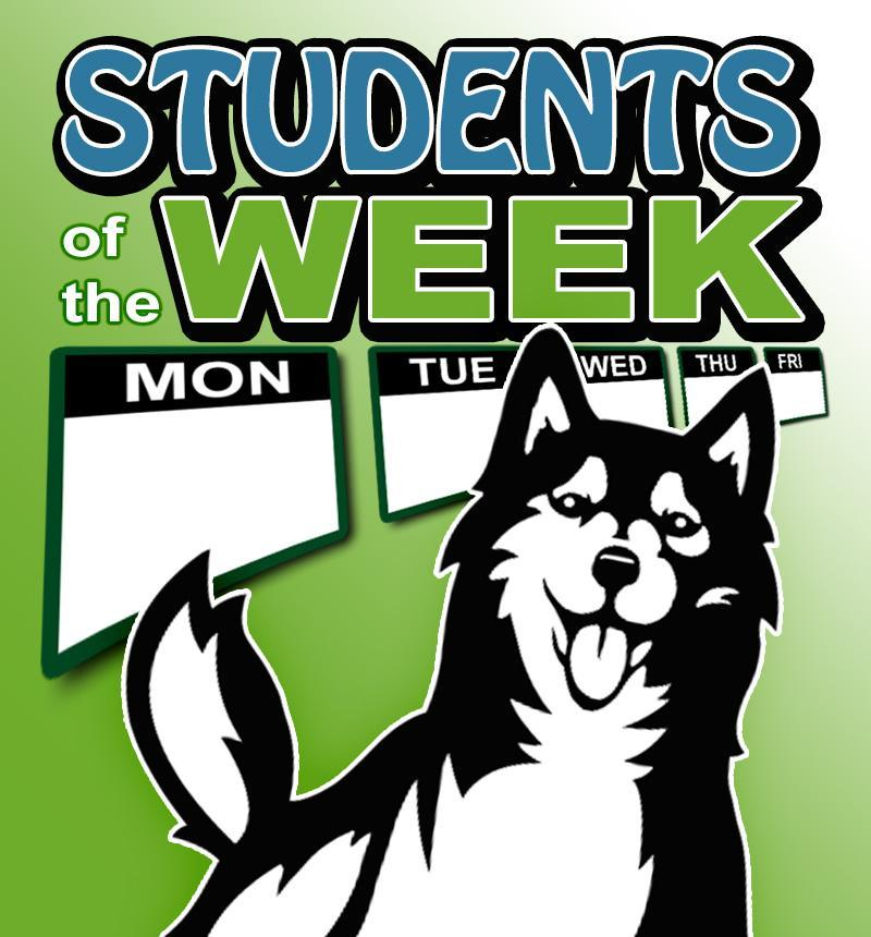 Students of the week Featured Photo