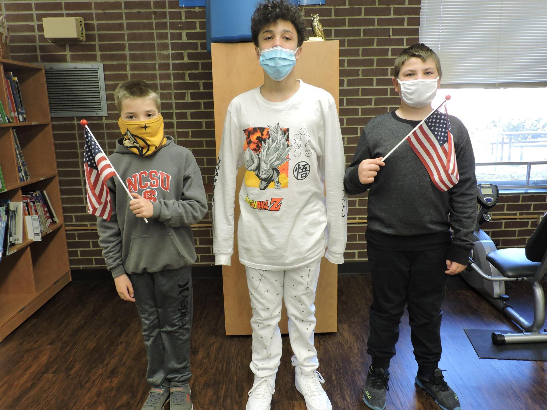 5th Grade Student Ambassadors