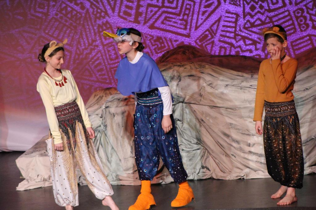 5th Grade Drama Lion King Kids 2019