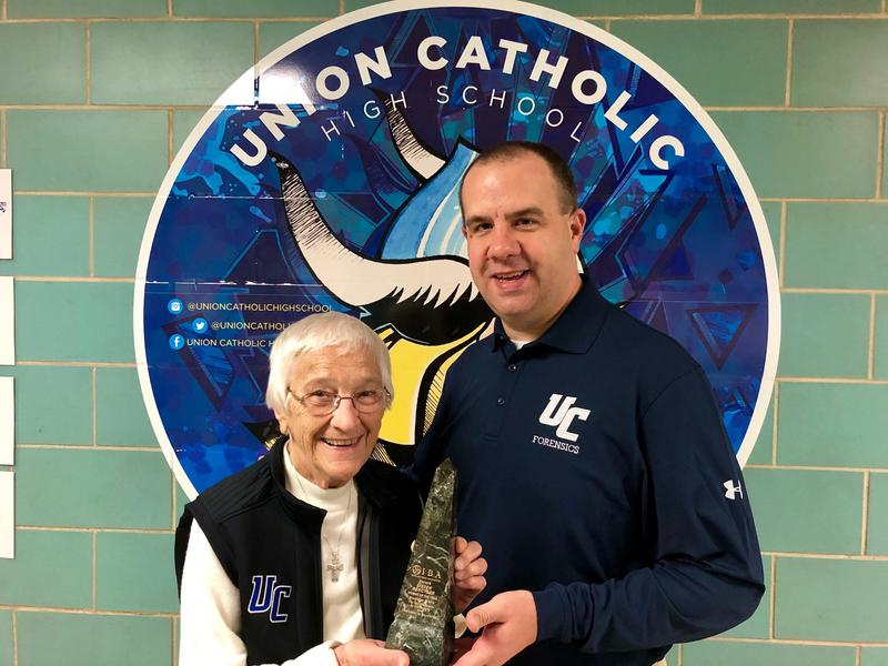 Union Catholic Principal, Sister Percylee Hart, Named the Irish Business Association 2019 Woman of the Year Thumbnail Image