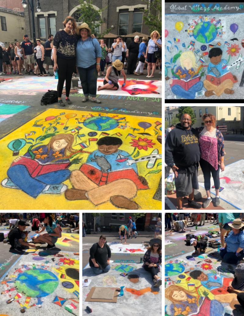 2019 Chalk Art Festival