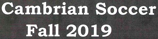 Cambrian Soccer Logo