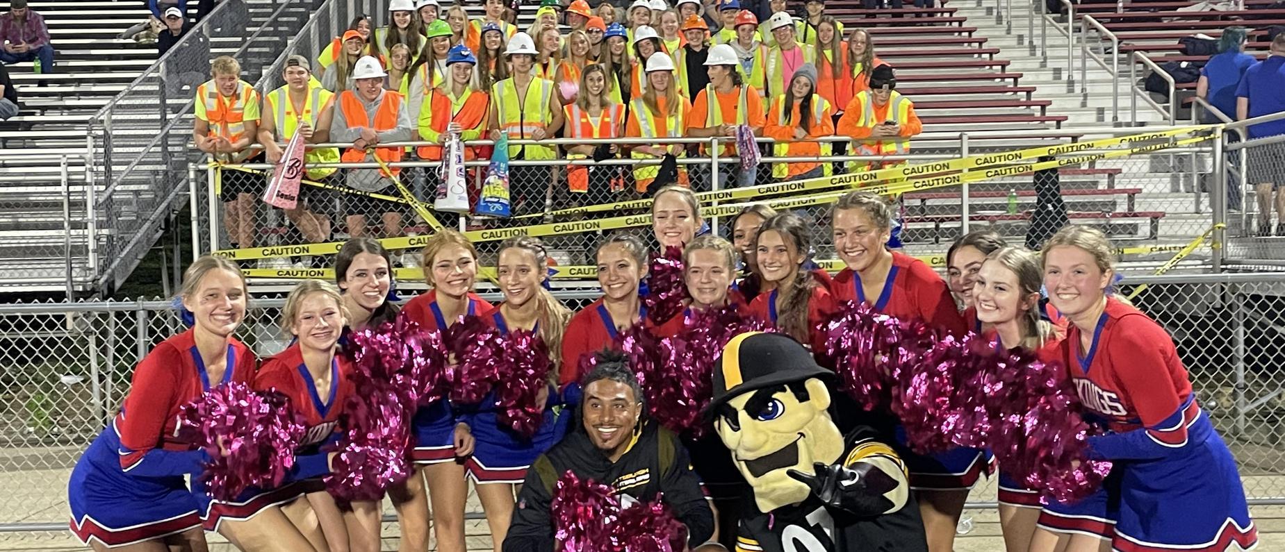 Cheer & Students