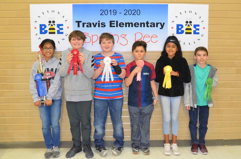Travis Spelling Bee WInners