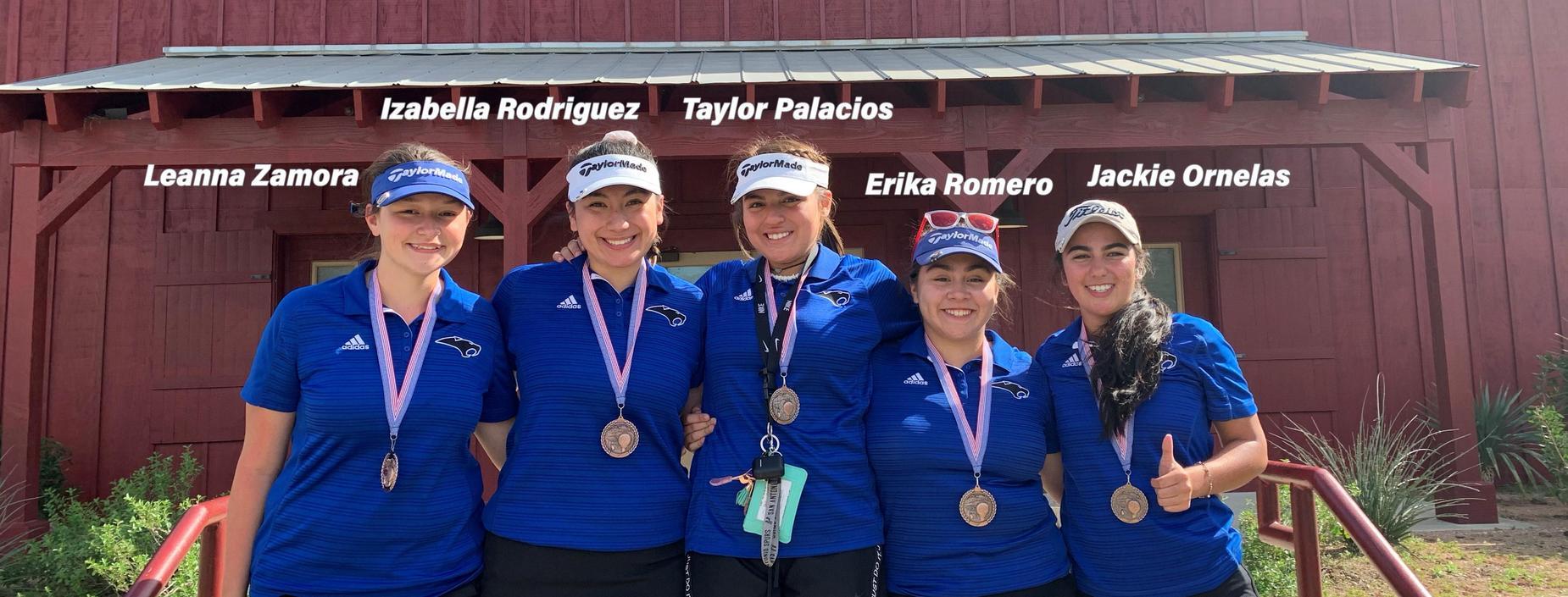 Golf Varsity Girls 3rd Place Region IV 6A Pre-Regional