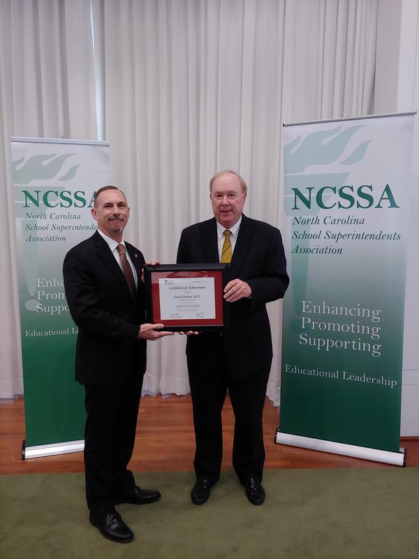 Dr. Sutton receives award