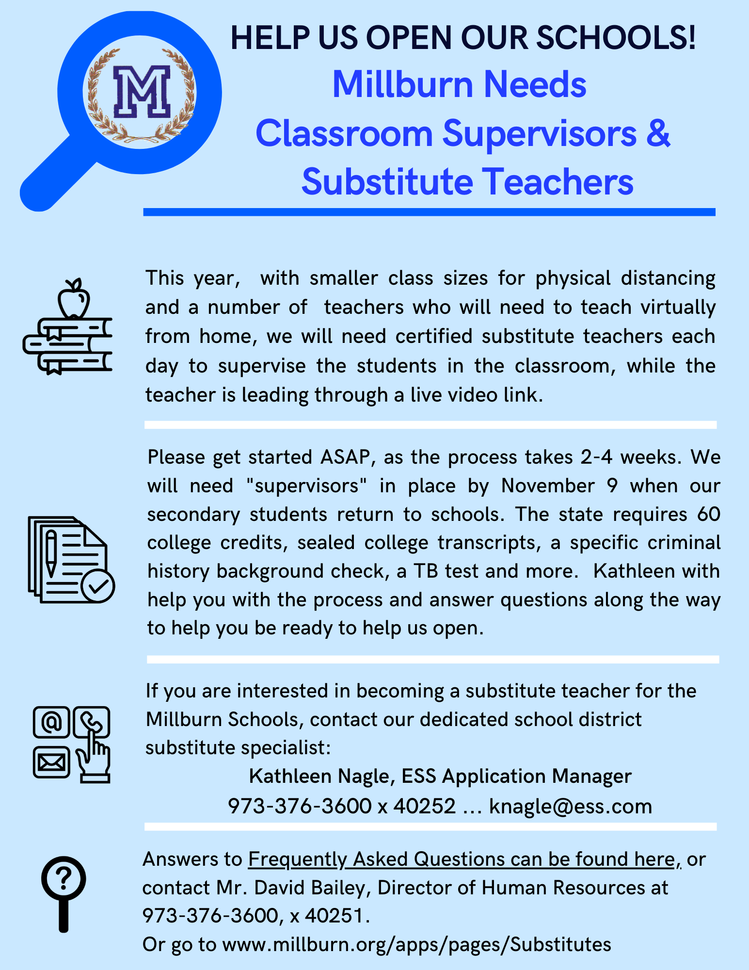 substitutes flyer