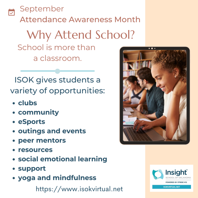 Attendance Awareness Month - What is school to you? Featured Photo