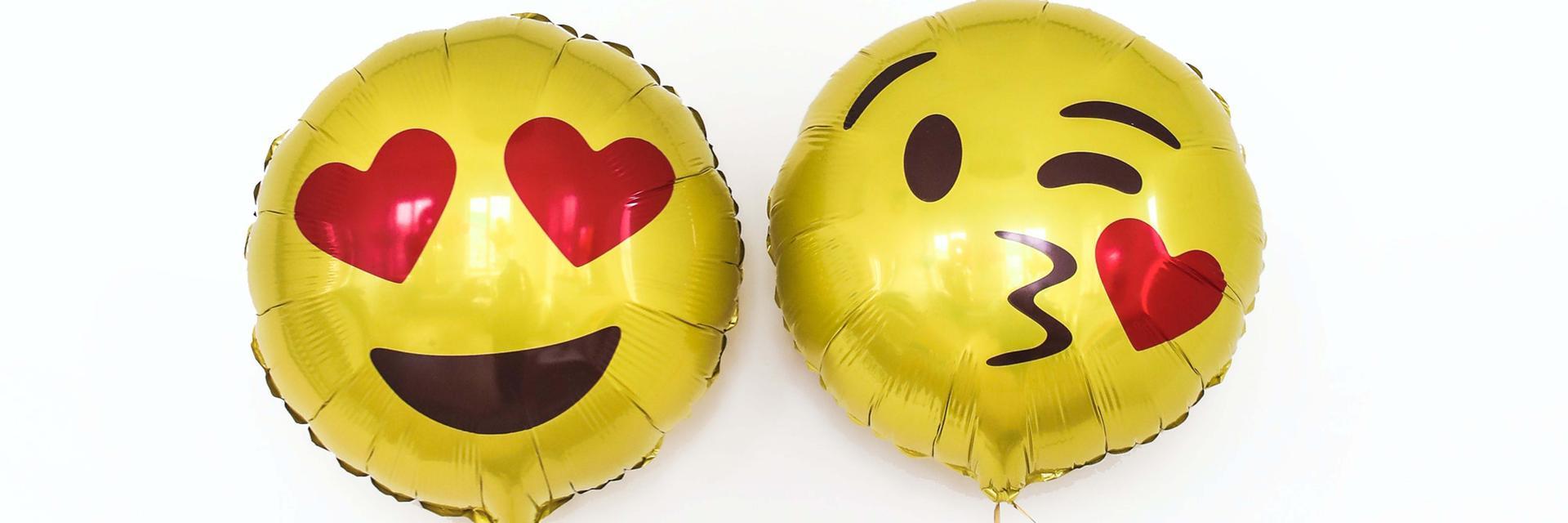 Balloon emojis