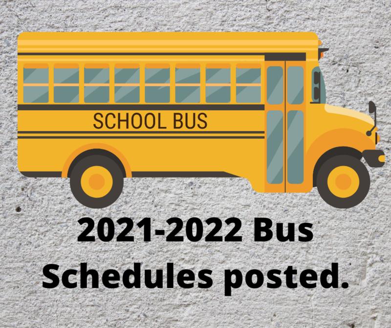 Bus Schedule Notice