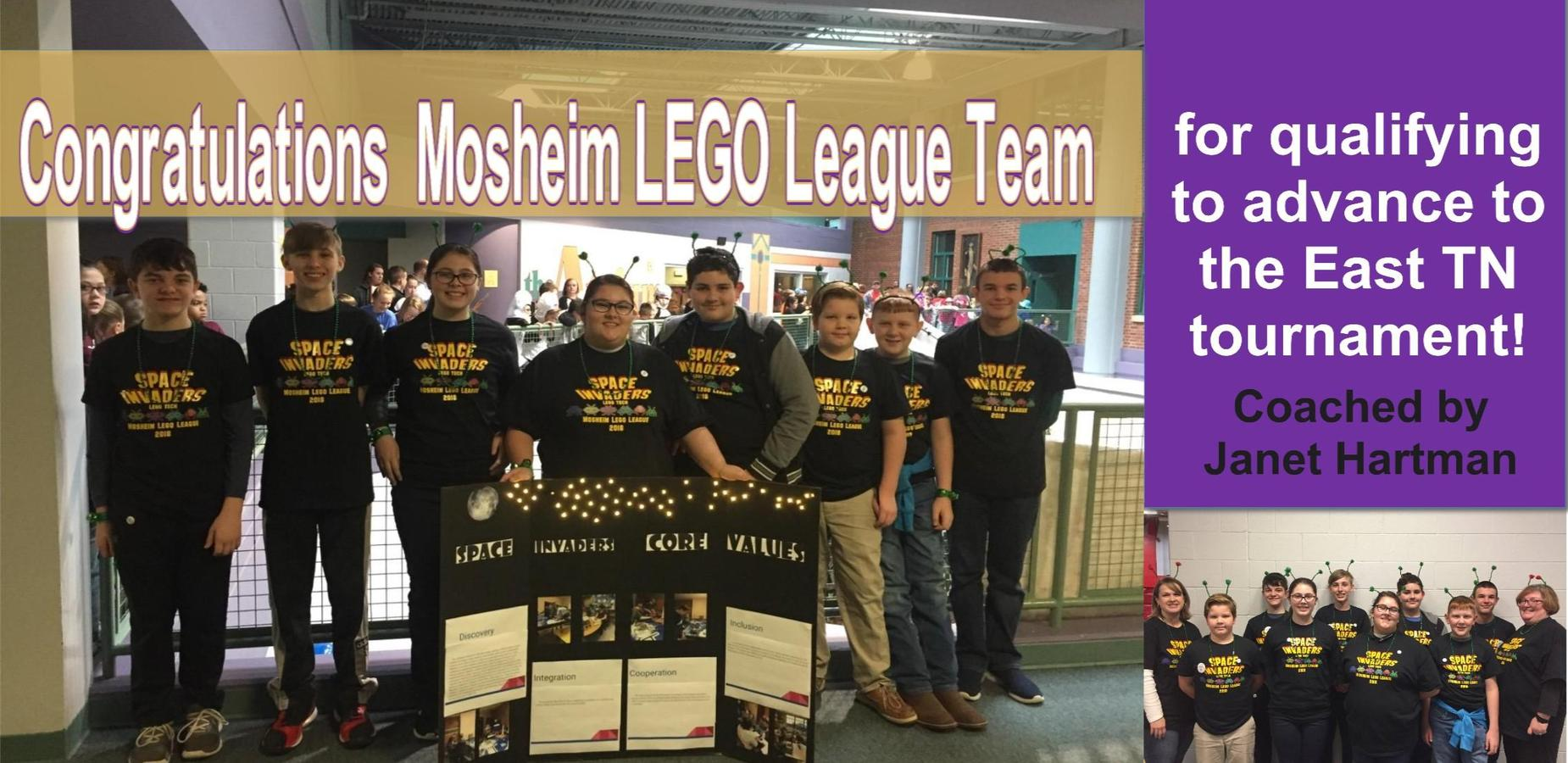 Mosheim Lego League